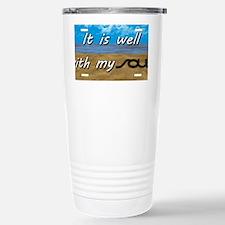 Well With My Soul Beach Travel Mug