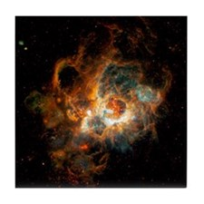 Hubble Space Telescope view of nebula Tile Coaster
