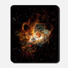 Hubble Space Telescope view of nebula NG Mousepad