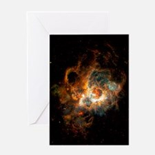 Hubble Space Telescope view of nebul Greeting Card