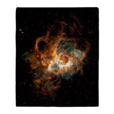 Hubble Space Telescope view of nebul Throw Blanket