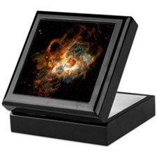 Hubble Space Telescope view of nebula Keepsake Box