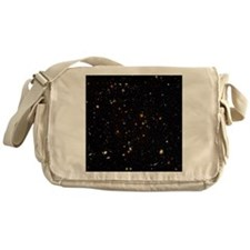 Hubble Ultra Deep Field galaxies Messenger Bag