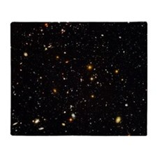 Hubble Ultra Deep Field galaxies Throw Blanket
