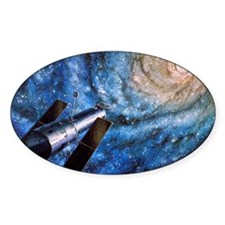 Hubble Telescope Decal