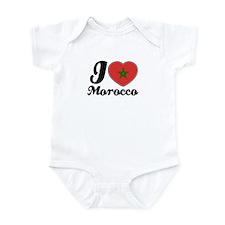 i love morocco Infant Bodysuit