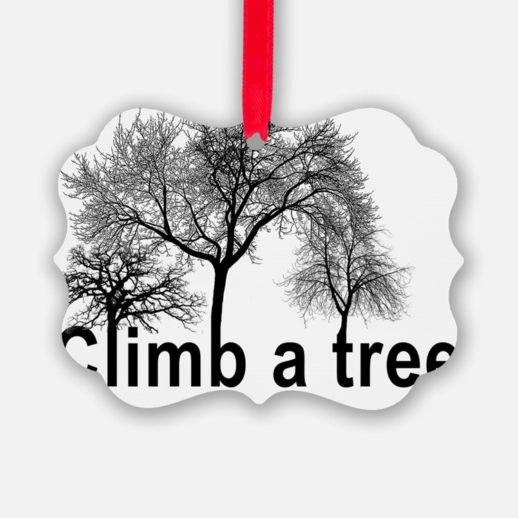 climb a tree Ornament