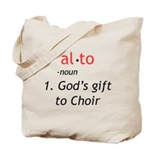 Alto Definition Tote Bag