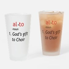 Alto Definition Drinking Glass