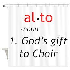 Alto Definition Shower Curtain