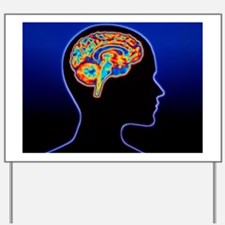 Human brain Yard Sign