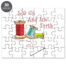 Sew on and Sew Forth Puzzle