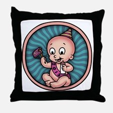 new-year-womb-T Throw Pillow