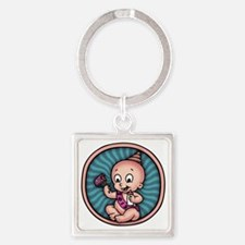 new-year-womb-T Square Keychain