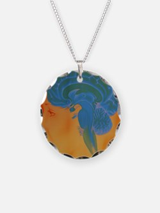Human brain Necklace