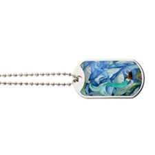 dolphins and mermaid party Dog Tags