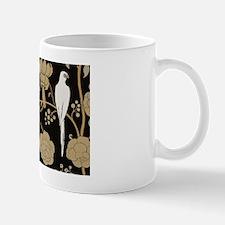 Art Deco Pigeons Small Mugs