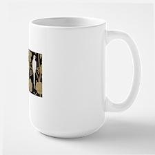 Art Deco Pigeons Ceramic Mugs