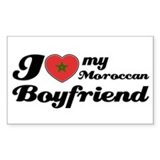 Moroccan Boy friend Rectangle Decal