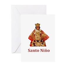 Santo Nino Greeting Cards