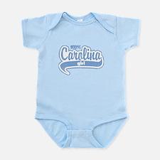"""100% Carolina Girl"" Infant Bodysuit"
