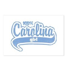 """100% Carolina Girl"" Postcards (Package of 8)"