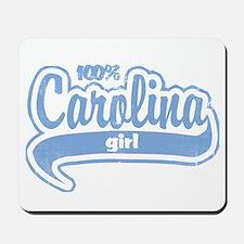 """""""100% Carolina Girl"""" Mousepad"""