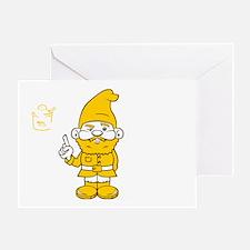 mustardgnome Greeting Card
