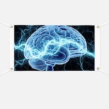 Human brain, conceptual artwork Banner