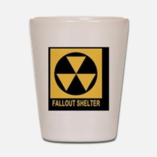 Fallout Shelter Square Shot Glass