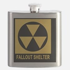 Fallout Shelter Square Flask