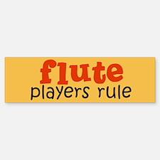 Flute Players Bumper Bumper Bumper Sticker