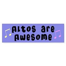 Altos Music Bumper Bumper Bumper Sticker