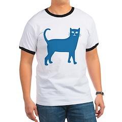 Aqua Blue Cat T