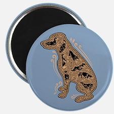 The Inside Dog Magnet
