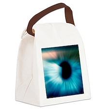 Human eye Canvas Lunch Bag