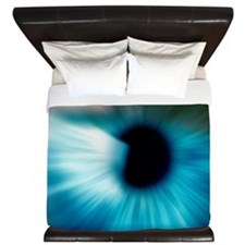 Human eye King Duvet