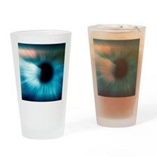 Human eye Drinking Glass