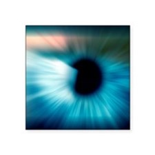 "Human eye Square Sticker 3"" x 3"""