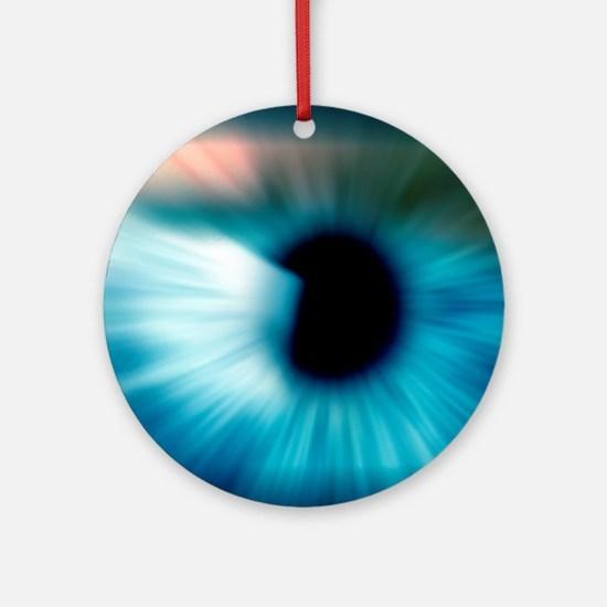 Human eye Round Ornament