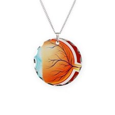 Human eye Necklace