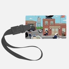 POLICE DEPARTMENT SCENE Luggage Tag