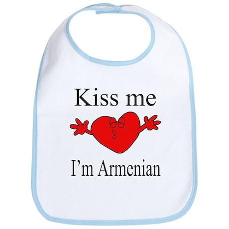 Kiss Me I'm Armenian Bib