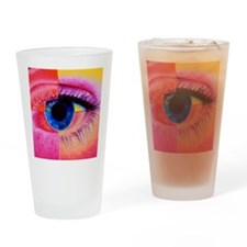 Human eye Drinking Glass