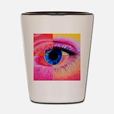 Human eye Shot Glass