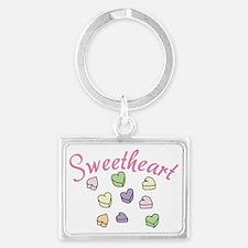 Sweetheart Landscape Keychain