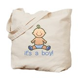It's a boy Canvas Bags