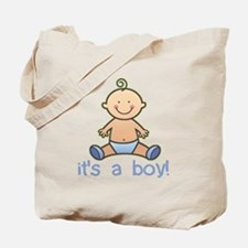 New Baby Boy Cartoon Tote Bag