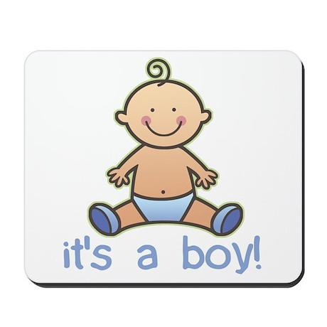 New Baby Boy Cartoon Mousepad