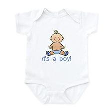 New Baby Boy Cartoon Onesie